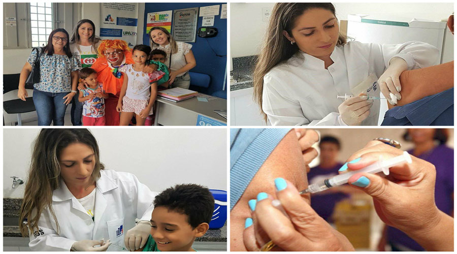 Secretaria de Saúde realiza Dia D da campanha contra o vírus influenza