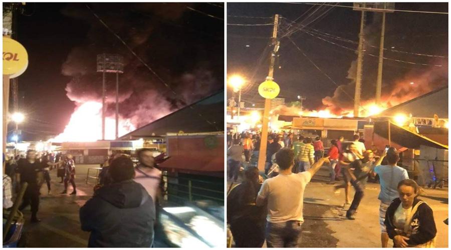 Resultado de imagem para São João de Campina Grande tem incêndio