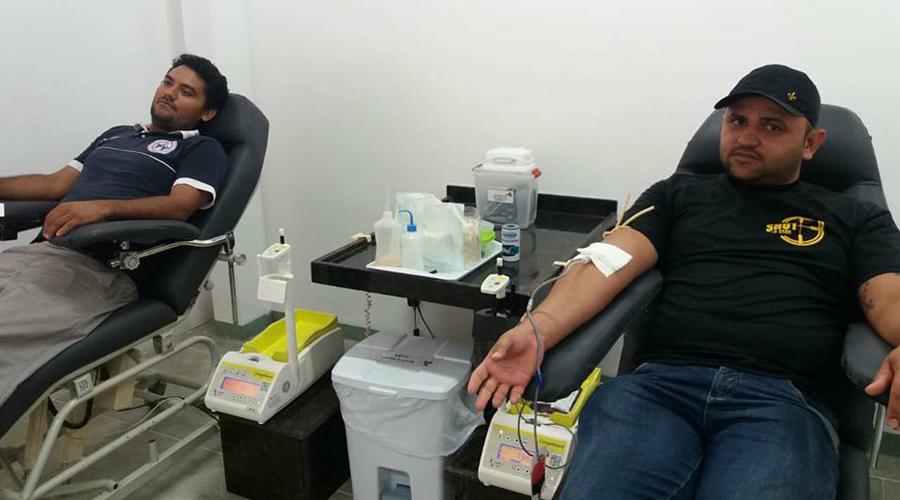 Hemonúcleo de Patos convida população para doar sangue neste período junino