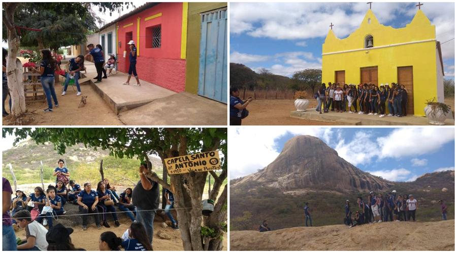 Estudantes da Escola José Gomes Alves visitam Picotes, a Vila do Cinema Brasileiro