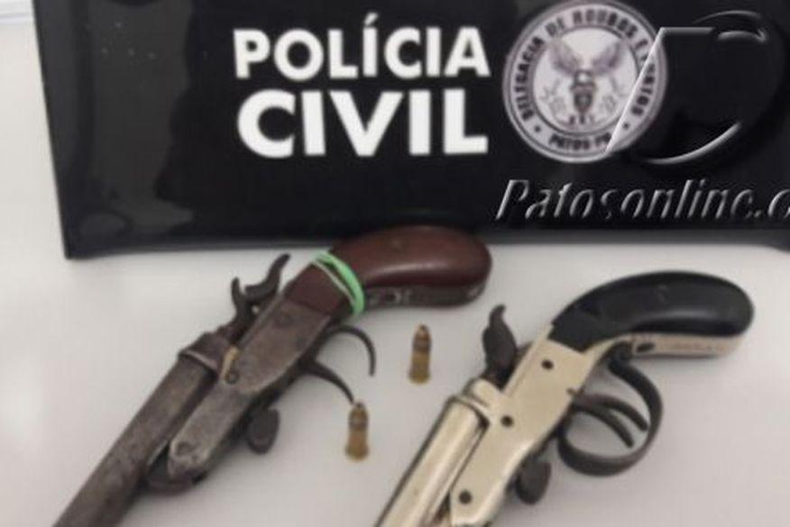 Homem é preso em Patos acusado de praticar roubos na região