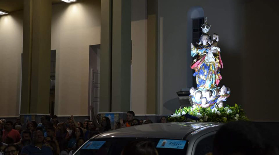 Muita fé e alegria na abertura da Festa de Setembro