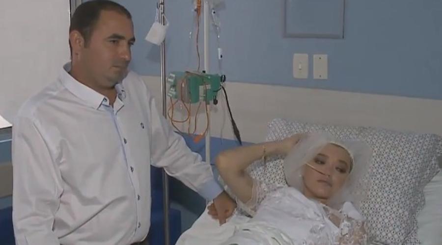 Morre jovem que se casou durante tratamento de câncer em hospital