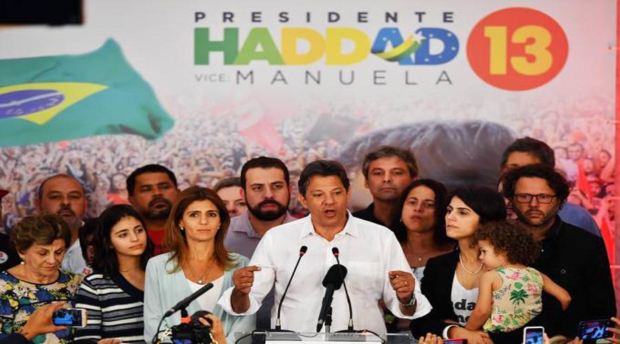 Após derrota, Haddad prega 'coragem' contra 'medo' e se projeta para 2022