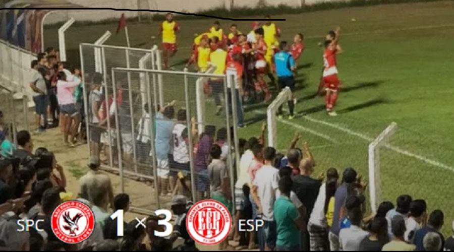 Esporte de Patos está de volta à primeira divisão