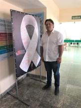 O diretor da Maternidade, Umberto Júnior, elogiou a iniciativa do MPE