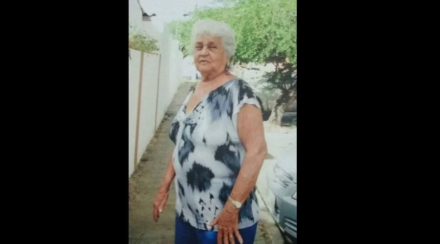 Nota da falecimento: Rosa Maria de Oliveira