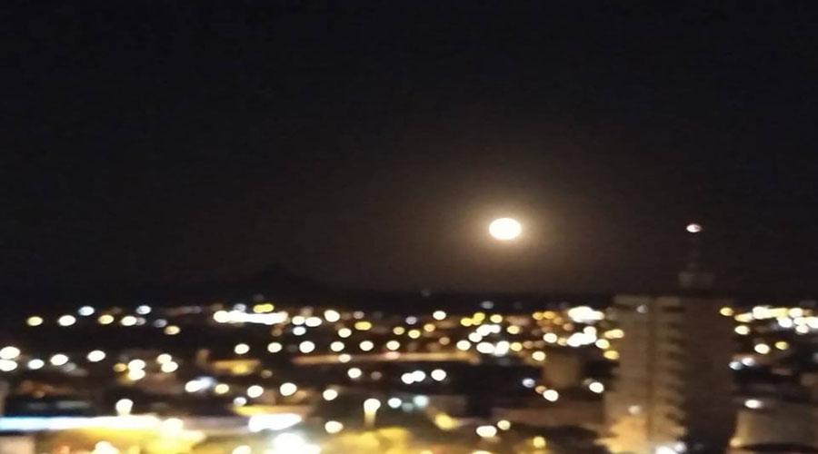Espetáculo da Lua nos céus de Patos nesta segunda