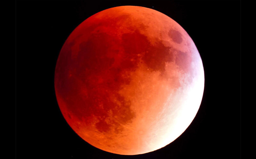 Eclipse lunar total acontece no dia 20 e haverá observação por telescópios em Matureia
