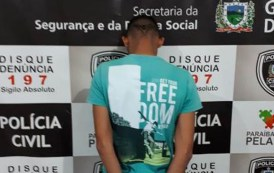 Polícias Civil e Militar prendem mais um acusado de tentativa de homicídio em Patos