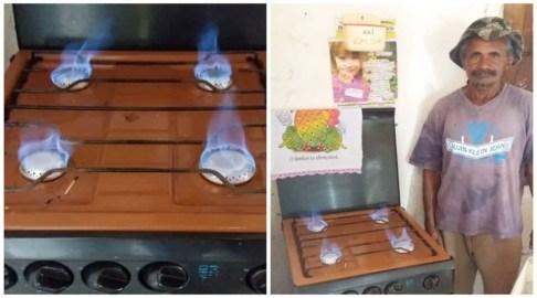 Há seis meses, agricultor produz e utiliza biogás em sua casa, em Cajazeirinhas. Vídeo