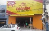 Inaugurada em Patos a Paraíba Importados, loja de preço único: 3 reais