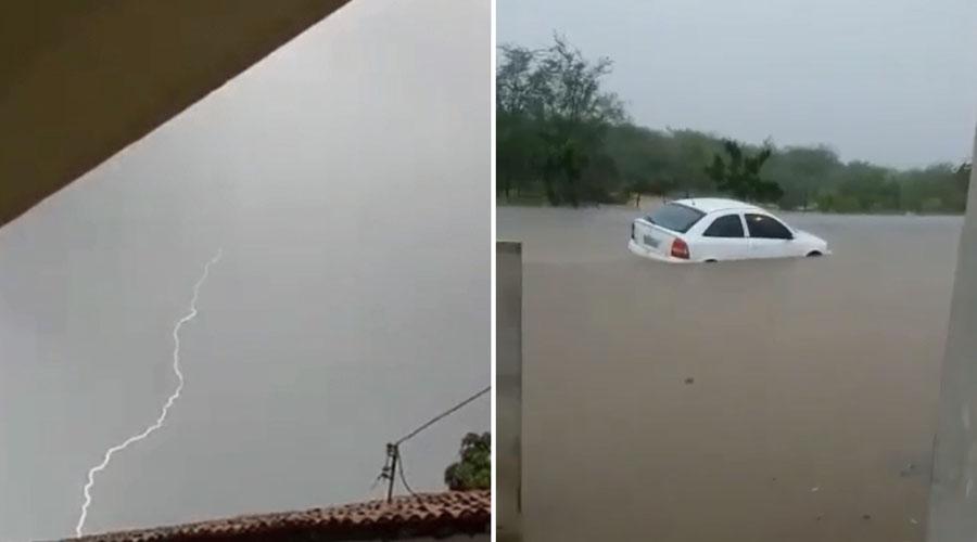 Chove 130 mm em São Mamede