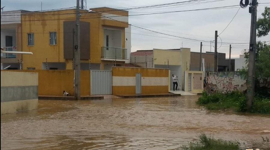 Dilúvio em Sousa: 170 mm