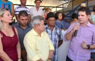 Hugo Motta participa de inaugurações na cidade de Tavares