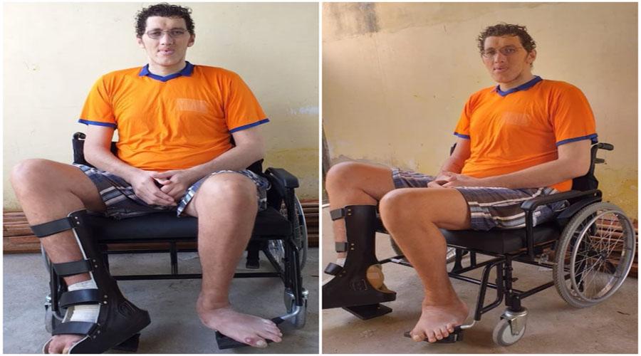"""Sem andar, gigante Ninão clama por ajuda: """"Precisamos até de comida"""" –  Folha Patoense"""