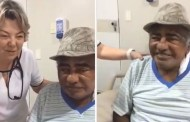 Sertanejo forte: Pinto do Acordeon tem alta médica. Vídeo