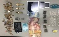 Polícia Militar prende acusado de tráfico de drogas no bairro da Maternidade, em Patos