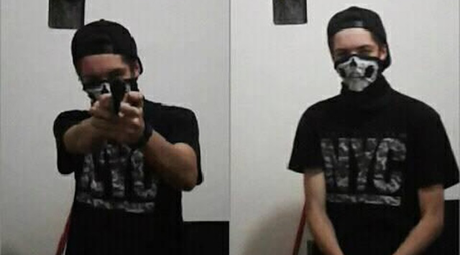 Assassino postou fotos com arma minutos antes do massacre em Suzano