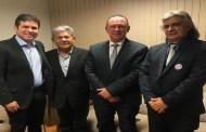 Hugo Motta se reúne com prefeitos de Pombal, Gurjão e Amparo