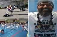Patoense Mestre Balu volta da França, onde mais uma vez divulgou a arte da Capoeira