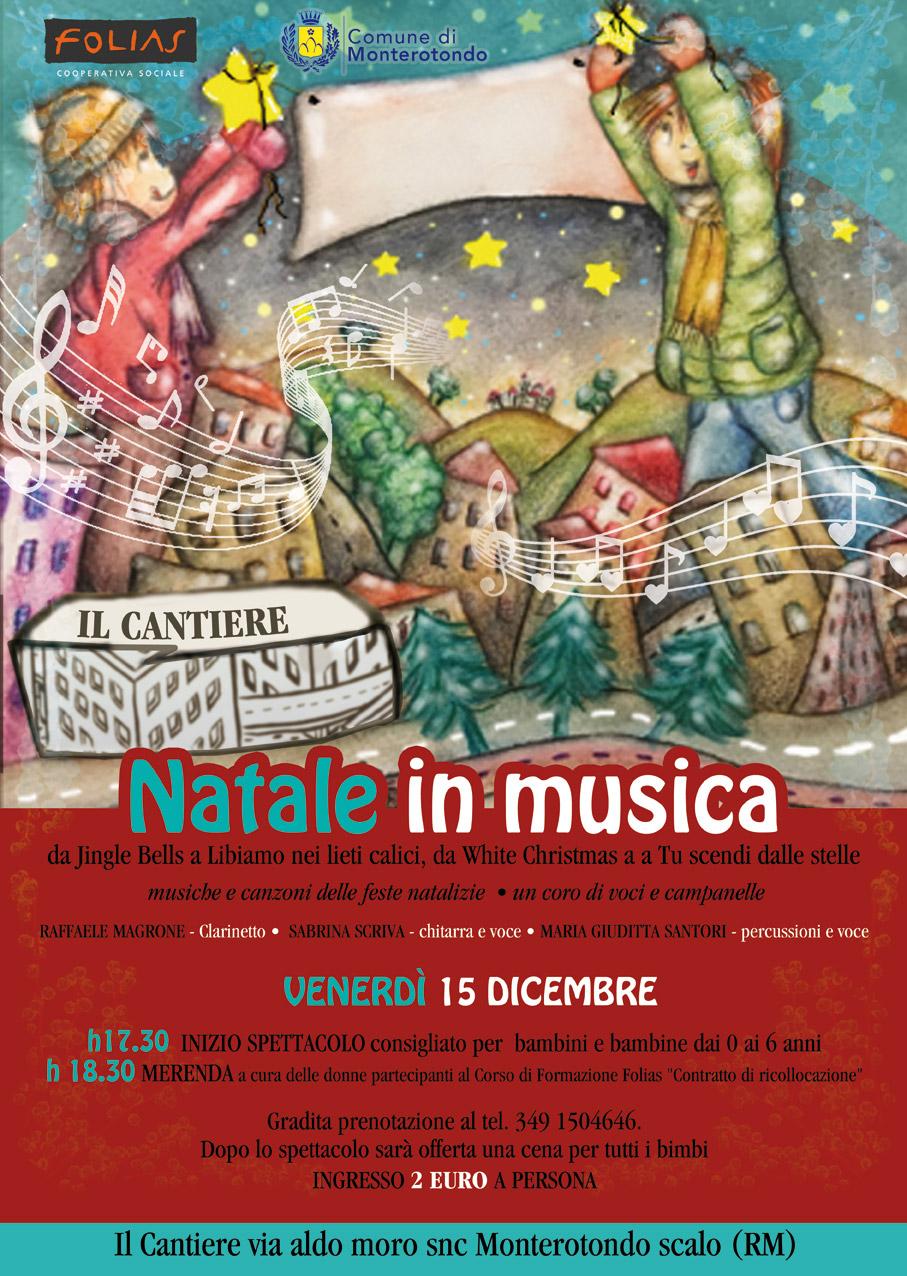 Trova una vasta selezione di cd musicali natalizi per bambini a prezzi vantaggiosi su. Natale In Musica Per Bambini Foliasfolias