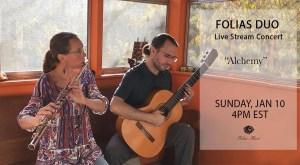 January Folias Duo Live Stream Banner