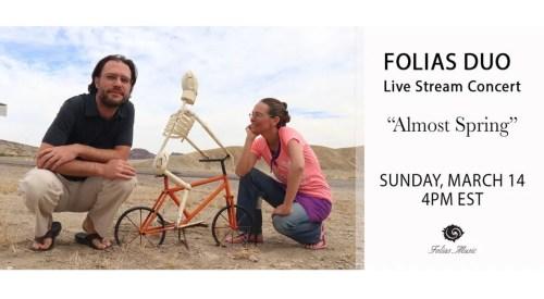 March Live Stream Folias Duo