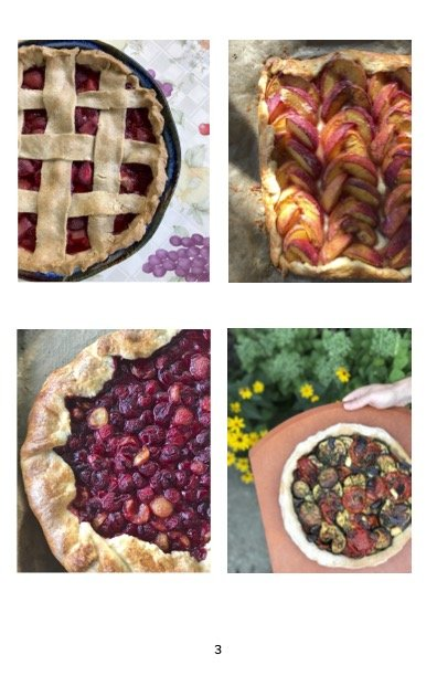 Folias Kitchen Sept 2021 Summer Pies Pics