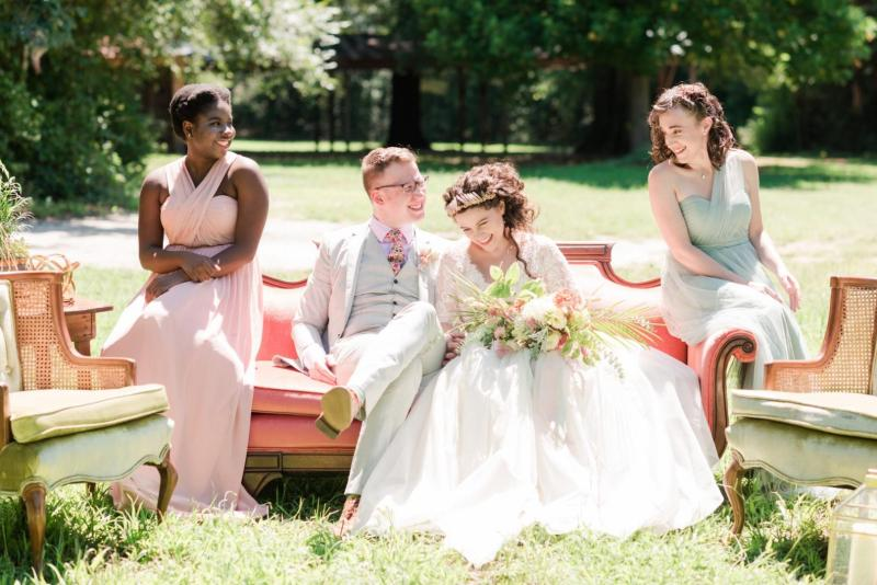 The Pros and Cons of Styled Shoots and Wedding Inspiration for Engaged Couples | Photo by Ana Teresa Galizes from our Styled Shoot at McDonald Artisan Farm in Aberdeen, NC in July 2017