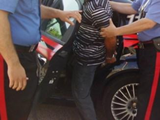 Un 40enne albanese, deve scontare pena, arresto dei carabinieri