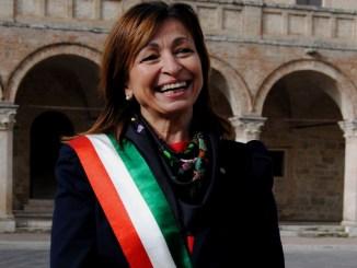 Cronometro del Sagrantino sindaco di Montefalco Donatella Tesei a Milano