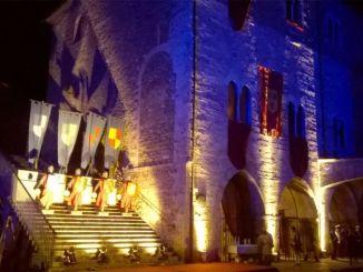 Bevagna celebra Dante Alighieri attraverso le Gaite il 25/3 il primo evento