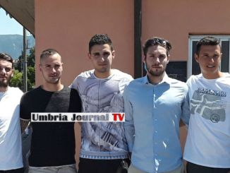 Presentati icalciatori Baldoni, Braccalenti, Gentili, Salvucci e Ziarelli