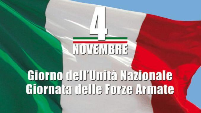 4 novembre, il programma della cerimonia a Foligno