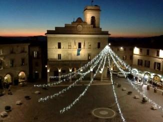 Inaugurazione rassegna Presepi per le strade e altre attività del Natale a Montefalco