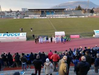 Foligno-Pontevecchio finisce 2-0 la 17esima giornata del Campionato Eccellenza