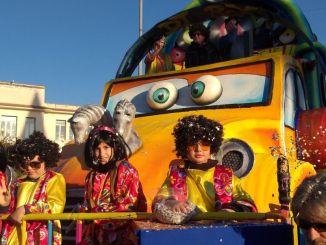 Sant'Eraclio annullato secondo corso mascherato Carnevale Ragazzi