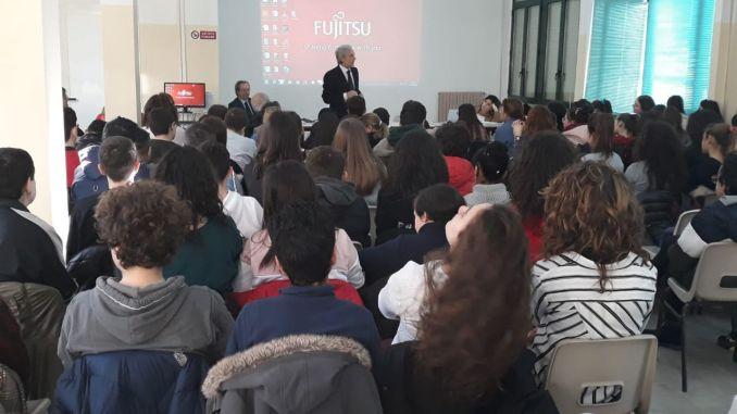"""Montefalco, incontro dell'Associazione """"Nel nome del Rispetto"""" con gli alunni dell'Istituto Melanzio"""