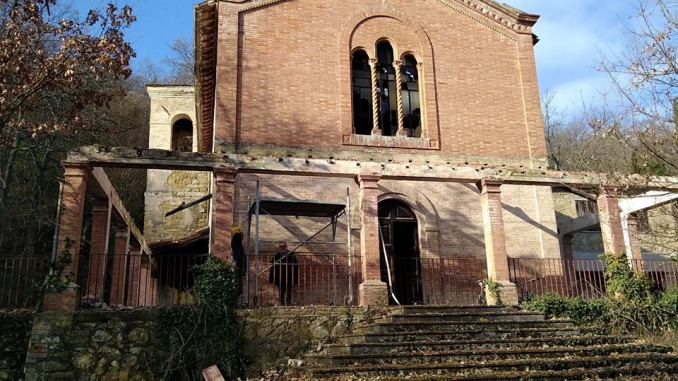 Messa in sicurezza Santuario Madonna della Valle di Bevagna