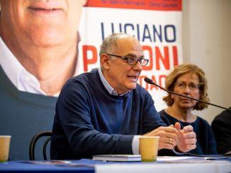 Luciano Pizzonicandidato sindaco Centrosinistra si è presentato a Foligno