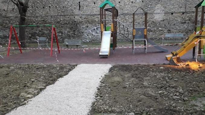 """Nuovi giochi al Parco """"Filippo Silvestri"""" di Bevagna"""