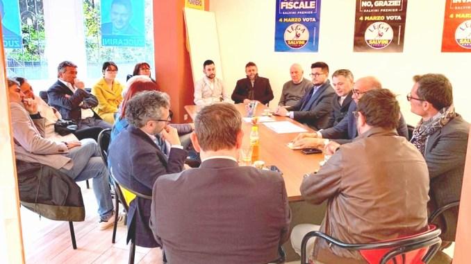 Stefano Zuccarini Sindaco centrodestra incontra Confindustria a Foligno