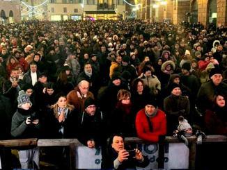 Capodanno Paiper a Foligno, il più bello dell'Umbria
