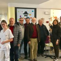 """Associazioni in visita alla Residenza Protetta """"C.Amici"""" di Trevi"""