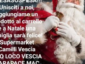 Natale vero con la Spesa SOSpesa a Vescia di Foligno