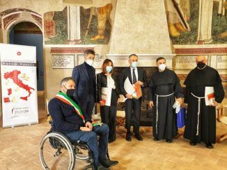 """La trasmissione """"Le Piazze di Francesco"""" a Foligno"""