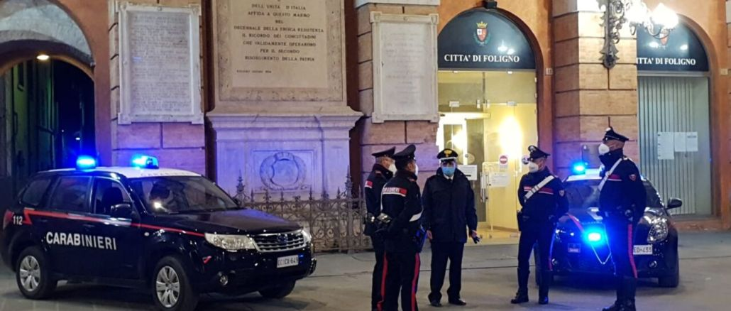 Carabinieri di Trevi arrestano quarantenne preso in flagrante per spaccio