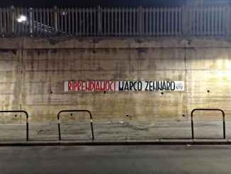 Caso Zennaro, striscioni affissi 100 città italiane liberazione imprenditore