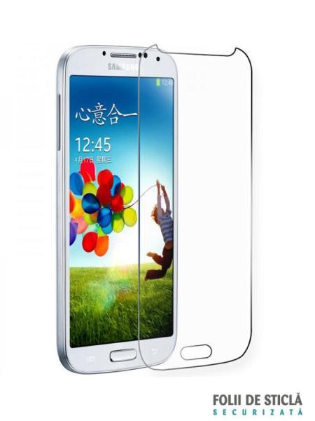 Folie din sticla securizata pentru Samsung Galaxy S4